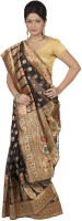 Hawai Self Design Banarasi Georgette Saree(Multicolor)