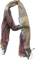 Dushaalaa Checkered Silk Women's Scarf
