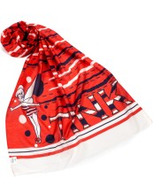 Disney Printed Cotton Girls Scarf
