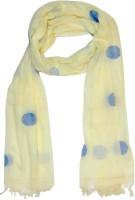 Dushaalaa Self Design Coton Women's Scarf