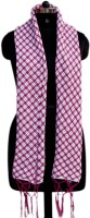 VR Designers Checkered Pure Wool Women Scarf