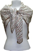 Dushaalaa Embroidered, Printed Silk Cotton Women's Scarf