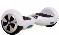 Emob Hover board with RGB LED Light Electric Drifting Board Speedway Bluetooth Music Speaker with ABS Feature Self Balance Wheel Electric Scooters Scooter(White)