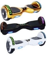 Gadgetbucket Self Balancing Smart Scooter HoverBoard Unicycle 2 Wheel Bluetooth LED Electric Scooters Scooter(multicover)