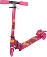Zeemon 3 Wheel LED Tyres Tricycle Cycle Adjustable Stunt  Scooter(Pink)