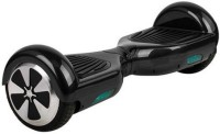 Emob Speedway Bluetooth Music Speaker Hover board with RGB LED Light Electric Drifting Board Self Balance Wheel with ABS Electric Scooters Scooter(Black)
