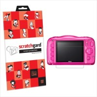 View Scratchgard Screen Guard for Nikon CP S33 Laptop Accessories Price Online(Scratchgard)