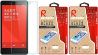 Raydenhy Tempered Glass Guard for Xiaomi Redmi Note Pack of 2