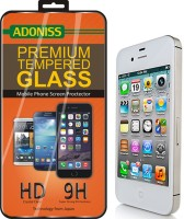 Adoniss Tempered Glass Guard for Apple iPhone 4s