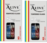Cover Alive Tempered Glass Guard for Lenovo K3 Note