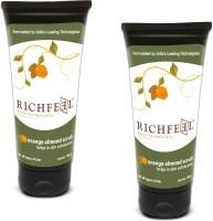 Richfeel Orange Almond (Pack Of 2) Scrub(200 g)