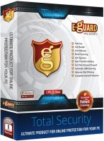 E-Guard Total Security 10.0 User 1 Year(CD/DVD)