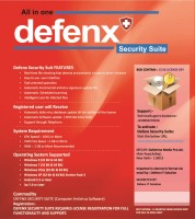 DefenxIT Total Security 1.0 User 1 Year(CD/DVD)