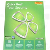 QUICK HEAL Total Security 3.0 User 1 Year(Voucher)