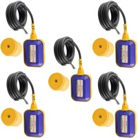 EX PROCESS Cable Float Switch 2Mtr Automatic Water Level Controller Pack of 5 Wired Sensor Security System