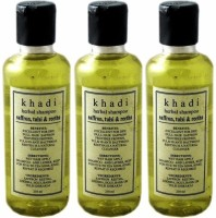 Khadi Herbal Saffron, Tulsi & Reetha(630 ml)