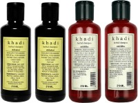 Khadi Herbal Shampoo Sikakai & Satritha Combo(840 ml)