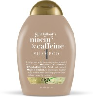 OGX Fight Fallout+ Niacin3 & Caffeine Shampoo(385 ml)