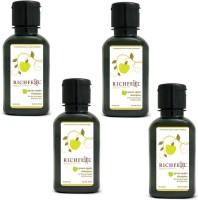 Richfeel Green Apple Shampoo Pack Of 4(400 ml)