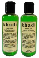 Khadi Herbal Neem Sat Shampoo(420 ml)