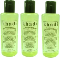 Khadi Herbal Green Apple + Conditioner Shampoo(630 ml)