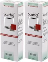 Atrimed Scurfol Anti-Dandruff Topical Pack of 2(200 ml)