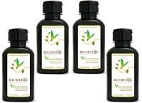 Richfeel Aloe Vera Shampoo Pack Of 4(400 g)
