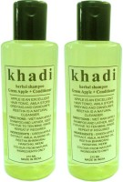 Khadi Herbal Shampoo Green Apple + Conditioner(420 ml)