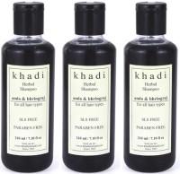 Khadi Herbal Amla & Bhringraj Shampoo (SLS & Paraben Free)(630 ml)