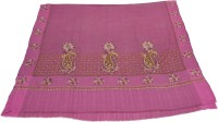 Sofias Pashmina Embroidered Women's Shawl(Pink)