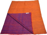 Sofias Pashmina Embroidered Women's Shawl(Orange, Purple)