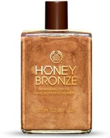 The Body Shop Shimmering Dry Oil For Body(honey bronze)