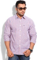 Allen Solly Mens Checkered Casual Blue, Red Shirt