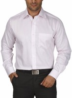 Park Avenue Men's Striped Formal Collar Shirt