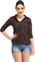 Cation Women's Printed Casual Shirt