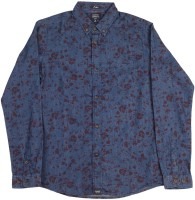 Indian Terrain Boys Printed Casual Blue Shirt