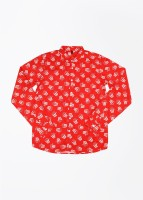 United Colors of Benetton. Boys Printed Casual Shirt