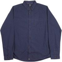 Indian Terrain Boys Printed Casual Blue Shirt