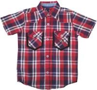 Globe Born Lucky Boys Checkered Casual Red Shirt