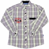 Dreamszone Boys Checkered Casual Green Shirt