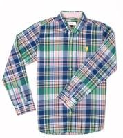 US Polo Kids Boys Checkered Casual Multicolor Shirt
