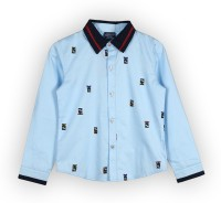 Lilliput Boys Printed Casual Shirt