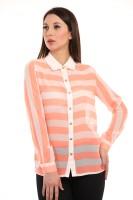Texco Womens Striped Casual Multicolor Shirt