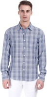 Zobello Mens Checkered Casual Multicolor Shirt