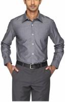 Park Avenue Men's Solid Formal Auto Fit Collar Shirt