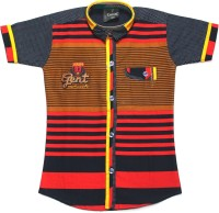Empire Apparels Boys Embroidered Casual Shirt