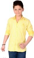 Aedi Boys Checkered Casual Shirt