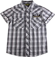 Eves Pret A Porter Boys Checkered Casual Shirt