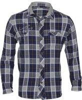 Lumber Boy Boys Checkered Casual Blue Shirt