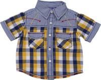 Lilliput Boys Checkered Casual Blue Shirt
